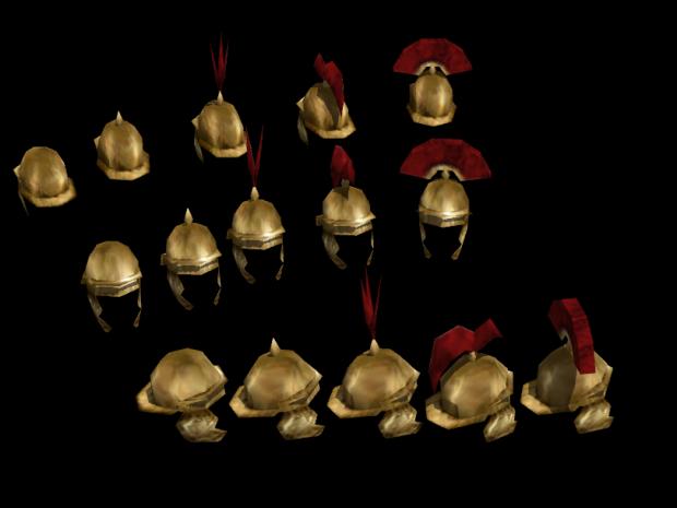 Roman Coolus Helmets