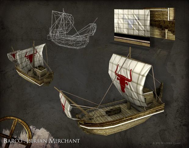 Barco : Iberian Merchant Ship