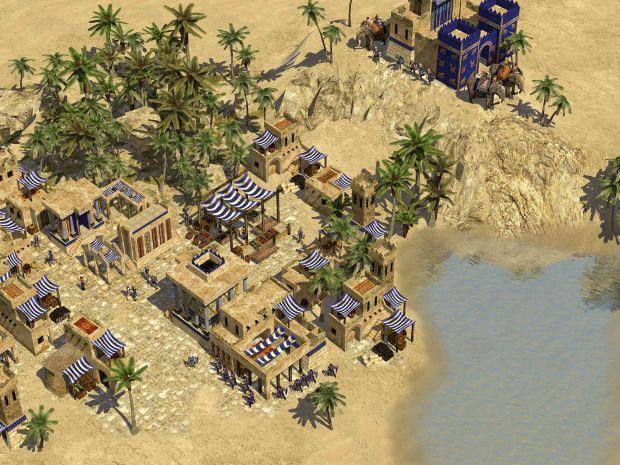 Persian Desert Town