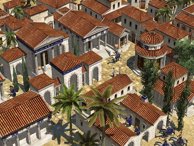 Roman Desert Town