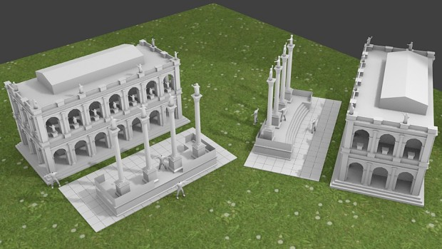 Romans Taking Shape