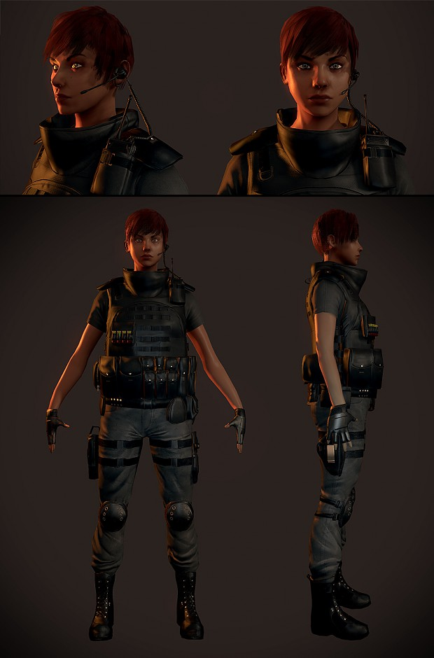 Swat Female - hi-res Still Pics