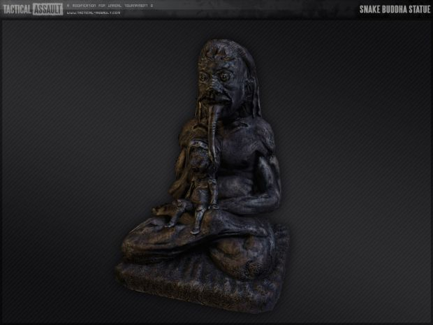 Snake Buddha Statue