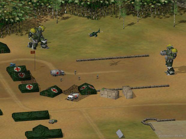 Mech Commander 2 Fan Site Kit Screen Shots