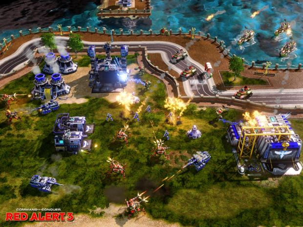 Red Alert 3 In-Game Screenshots