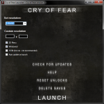 Cry of Fear - Launch App