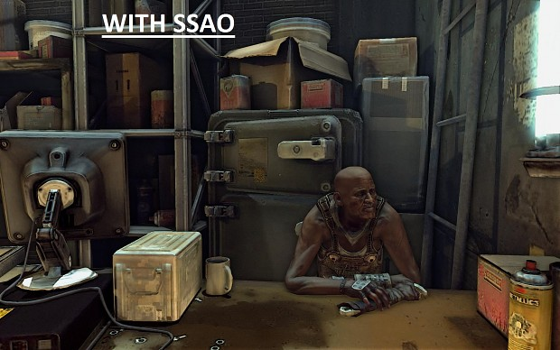 RAGE | DOF | SSAO