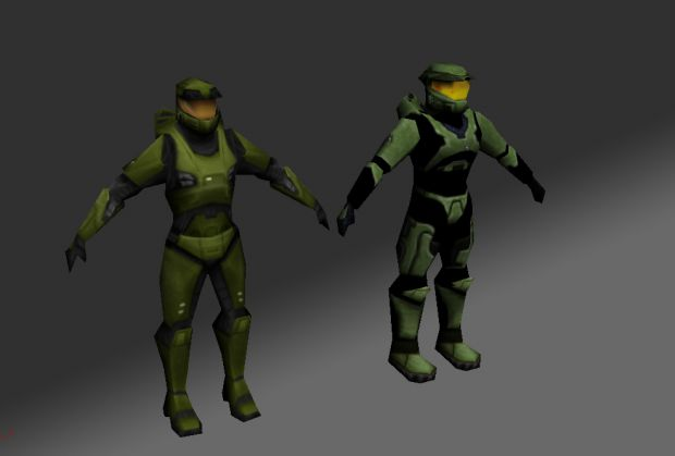 Low poly Spartans have never looked so good.