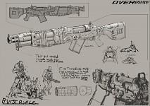 "Marauder ""Burst Rifle"" Concept"