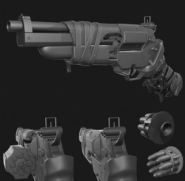 MDR Bolt Gun - WIP