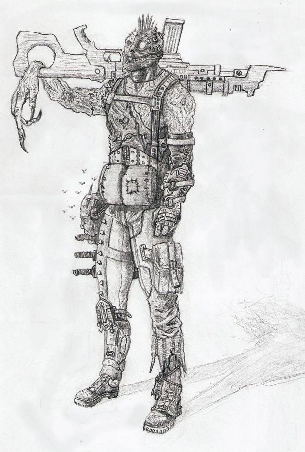 Marauder Infiltrator Concept Art