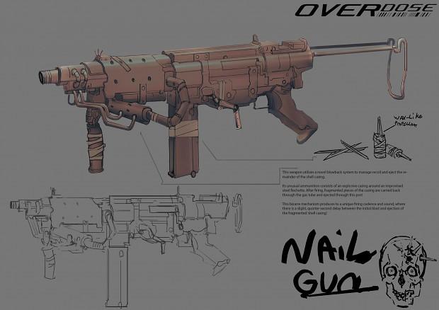 "Marauder ""Nailgun"" Concept"