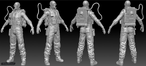 CMC Field Ops - High Poly