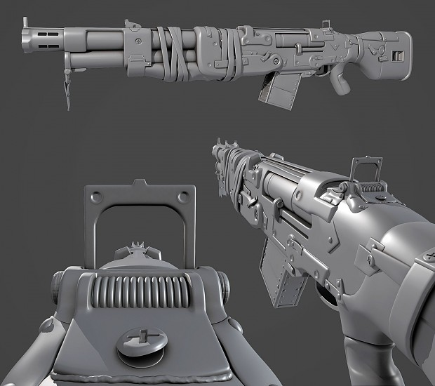 Marauder Burst Rifle (Shotgun) - Early Shot