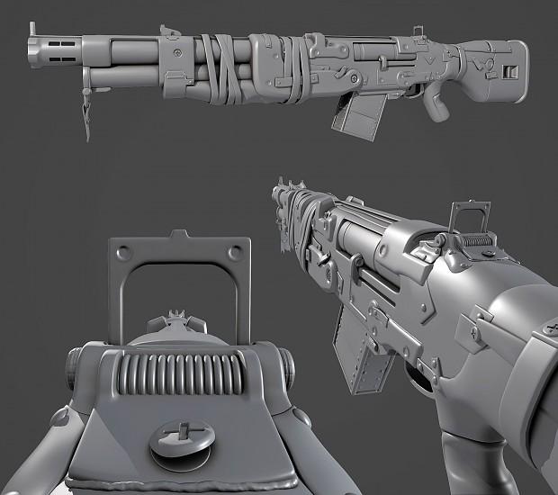 Marauder Burst Rifle (Shotgun) - Early Shot
