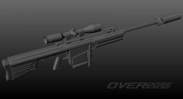 CMC M108 Sniper Rifle
