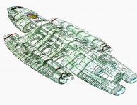 Battlestar Theseus Concept