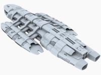 Battlestar Theseus WIP