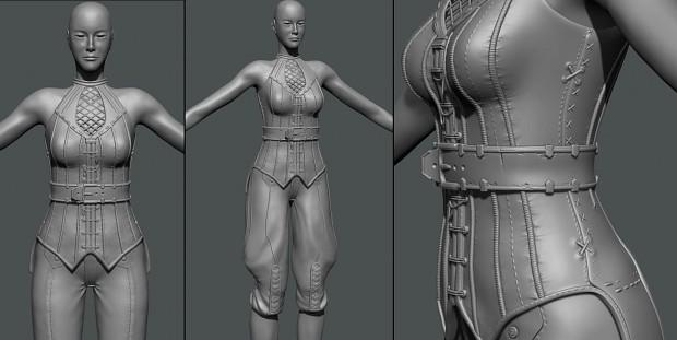 Lena v3 (sculpt version)