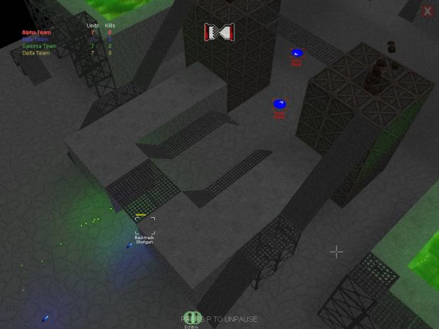 Skirmish Prototype (Alpha 2.00) screens
