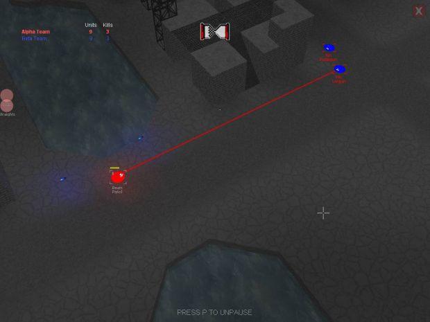 Skirmish Prototype (Alpha 2.00) screens