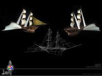 Sky Ship Model