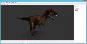 CDH Carnotaurus Model