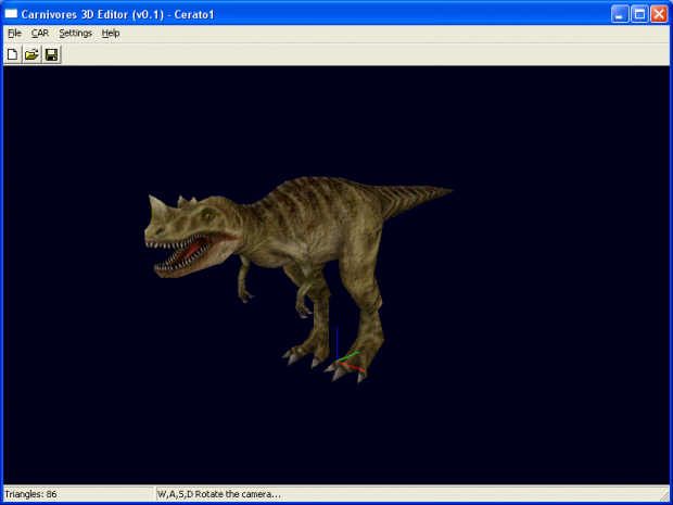 Carnivores 3D Editor 000