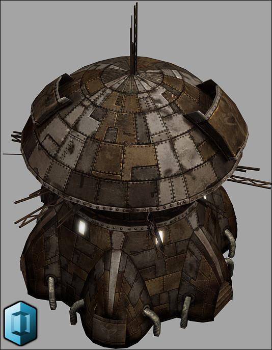Hyperion civilian structure (Prop)