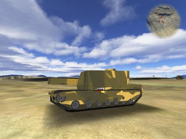 New Howitzer thing plus Practice Dummy Tank
