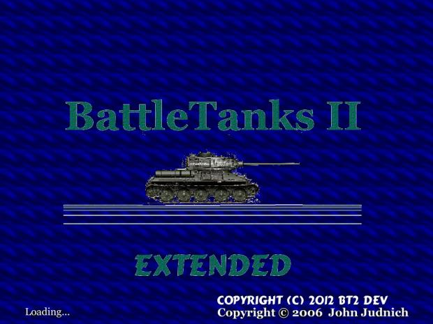 Battletanks II Extended logo