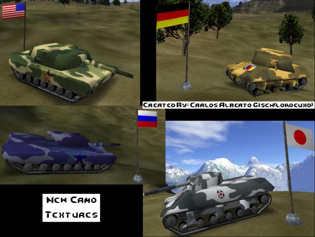 Camo Tanks Textures