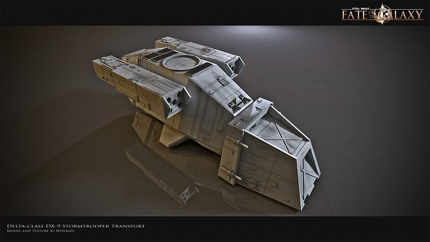 Delta-class DX-9 Stormtrooper Transport