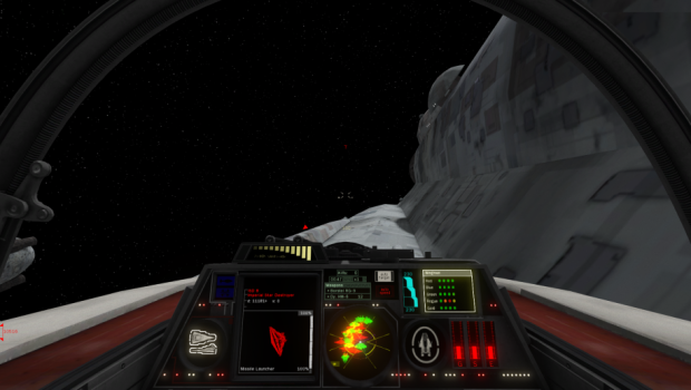 A-wing Cockpit