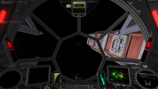 TIE Interceptor Cockpit