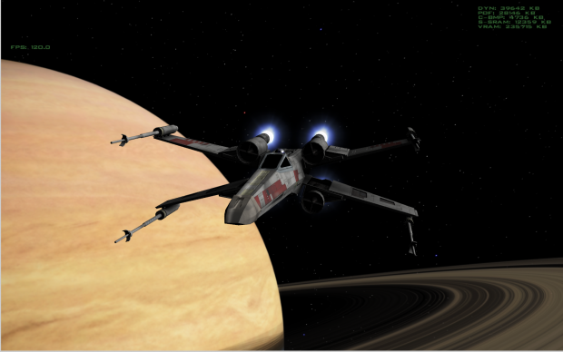 X-Wing In Game Shots