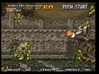 Screenshots of the original Metal Slug