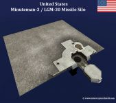 Minuteman-3 LGM-30 Missile Silo Building
