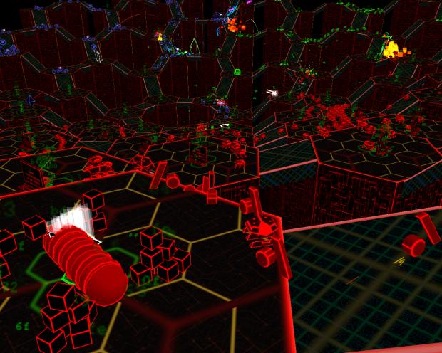 HexFarm - randomised dynamically generated map