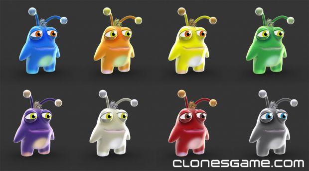 Clones Final Design - All Colors