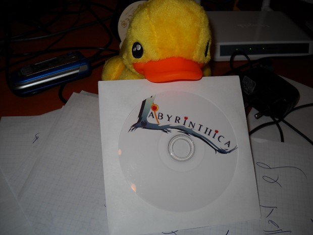Labyrinthica: The quest of lima. CD