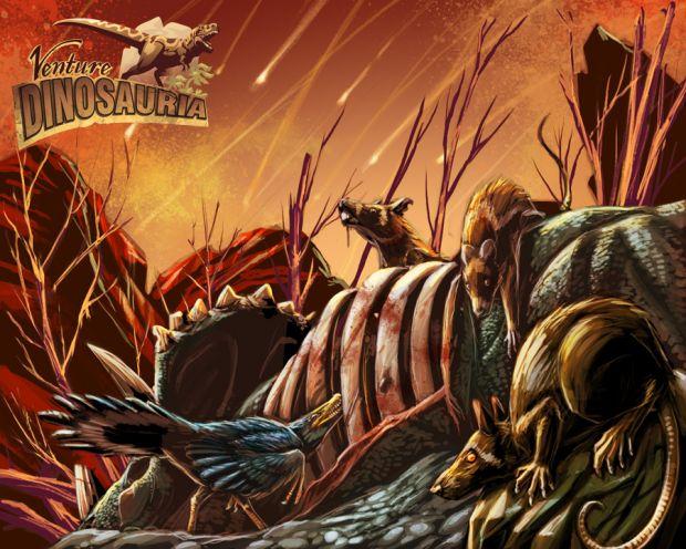Dinosauria Concept Art