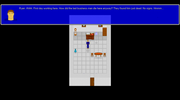 The First In-Game Screenshot
