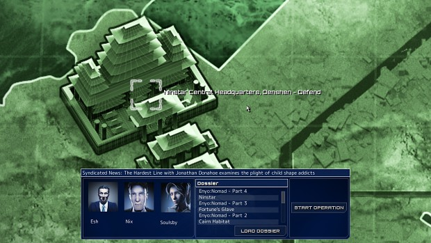 Frozen Synapse Launch Screenshot