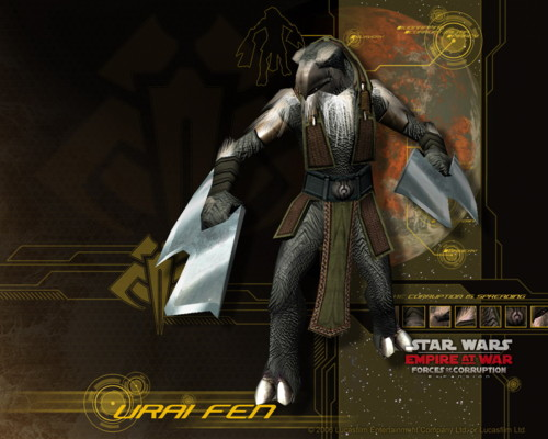 Urai Fen Image Star Wars Empire At War Forces Of