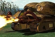 Flame Tank Render