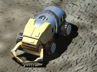 Tiberium Harvester Render