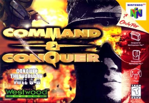 Command & Conquer 64 Box Art