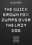 Pixel Pack Font