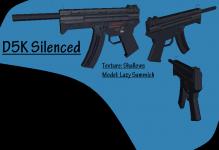 Textured: D5K Silenced